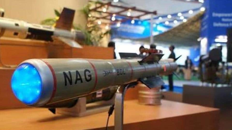 India's Anti-Tank Guided Missile, Nag Completes Development Trials