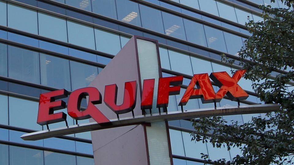 Credit reporting company Equifax corporate office in Atlanta, Georgia, US.