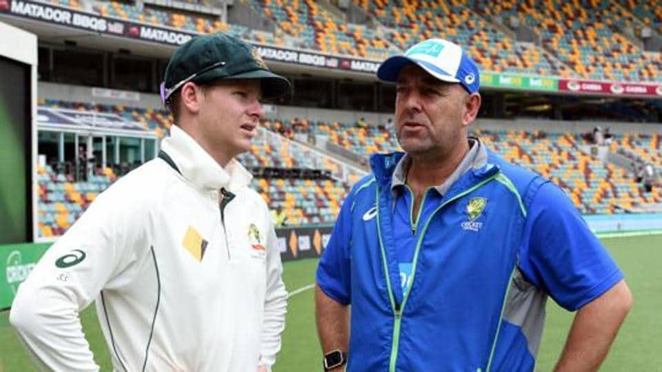 Darren Lehmann (right) will be taking a break from Australian cricket team's tour of India.