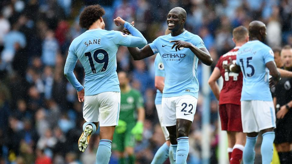 Manchester City handed Liverpool a 5-0 thrashing in their Premier League meeting at the Etihad Stadium on Saturday.