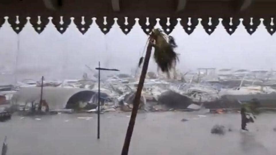 Hurricane,hurricane Irma,Carribean Islands