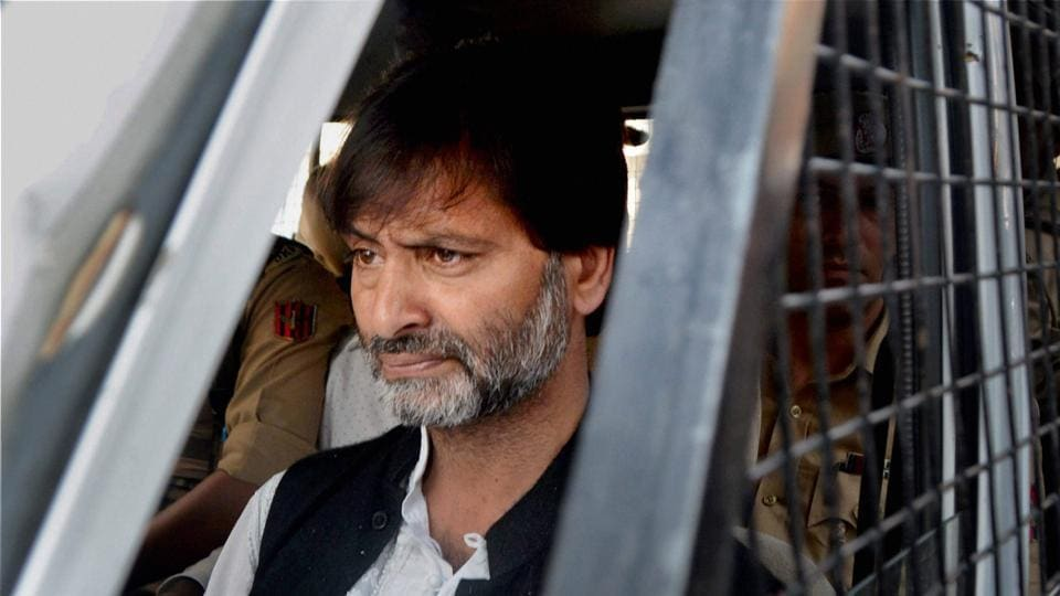 Jammu and Kashmir Liberation Front chief Yasin Malik was arrested from his uptown Maisuma residence in Srinagar around midnight.