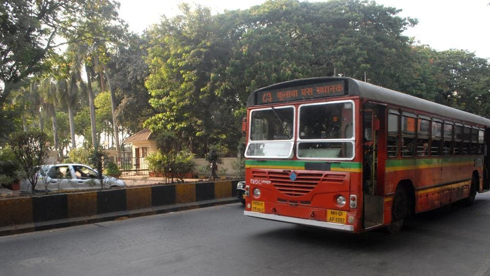 Mumbai - 21st may 2013 - 84 best bus at Mayor Bangalow, Photo by Prodip Guha