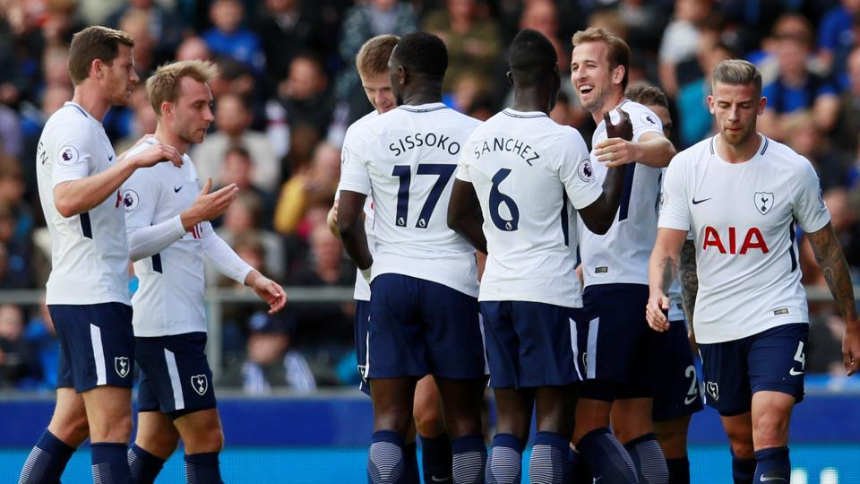 Tottenham Hotspur defeated Everton 3-0 away from home on Saturday.