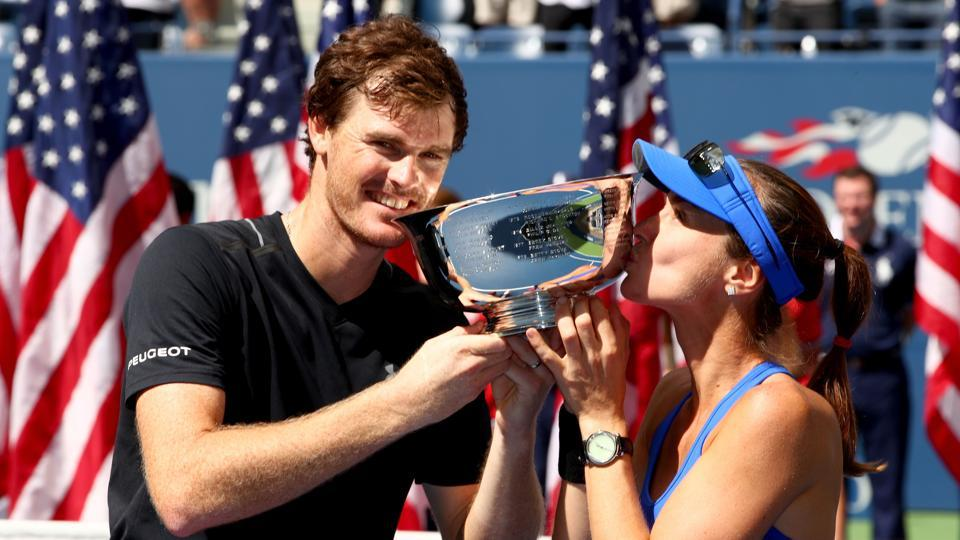 Jamie Murray,Martina Hingis,US Open