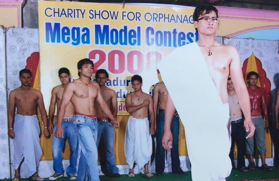 Contestants in the Mr Bahadurgarh pageant, staged in the Haryana town of the same name, took off their shirts after much trepidation. Women participated strictly in Indian attire.