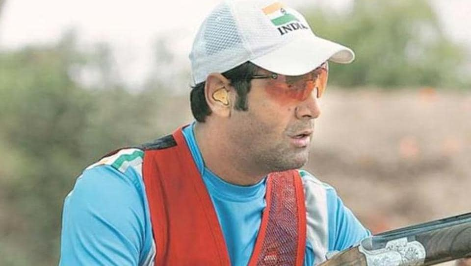 Mairaj Ahmad Khan (in picture) and Radhmmi Rathore ended 25th out of 41 teams with a score of 90 in the mixed team skeet event.