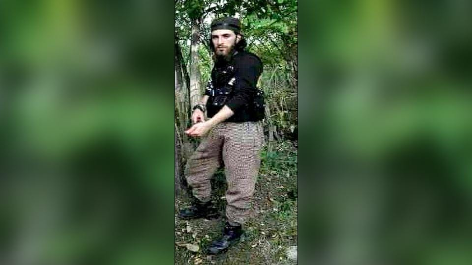 Hizbul militant Tariq, along with another militant, was killed in an encounter in Shopian on Sunday. (Photo: ANI Twitter)