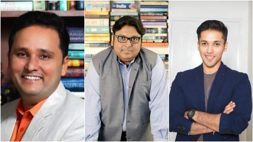 Like Ashwin Sanghi (centre), Amish Tripathi and Durjoy Dutta (right) are also trying their hand at writing non-fiction after successful stints at fiction.