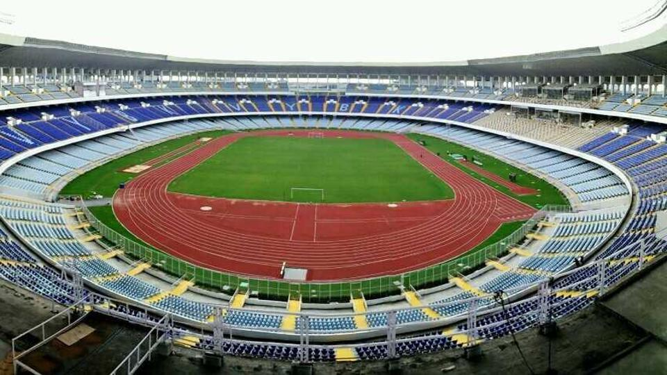 The newly refurbished Salt Lake Stadium has been handed over to FIFA for the U-17 World Cup.