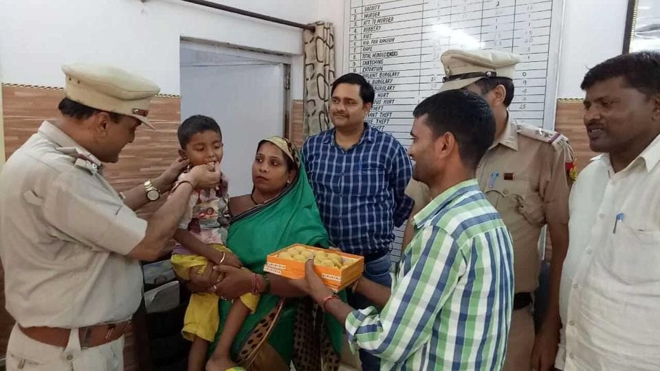 The five-year-old boy was kidnapped on Thursday night, allegedly by his two tenants and a neighbour from his west Delhi's Ranhola home for Rs 10 lakh ransom.