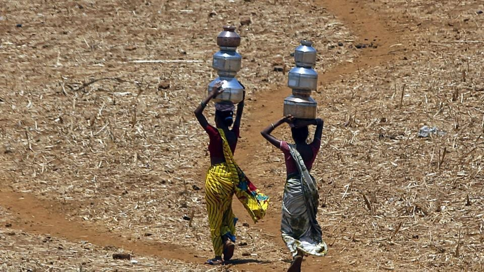 Drought conditions  loom over 225 districts across  India's 17 agriculturally important states, according to National Agriculture and Drought Assessment System