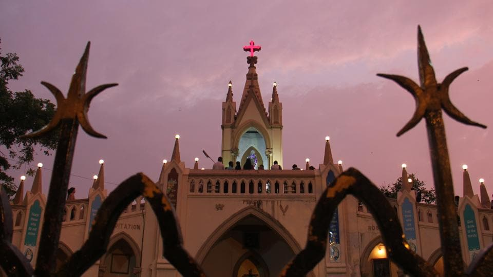 Mumbai,Bandra fair,Mount Mary Fair