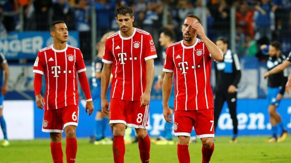 Bayern Munich,Hoffenheim,Borussia Dortmund