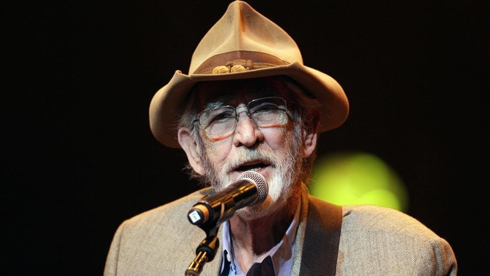 In this April 10, 2012 file photo, Don Williams performs during the All for the Hall concert in Nashville, Tenn. Williams, an award-winning country singer with love ballads like I Believe in You died on Sept. 8, 2017, after a short illness.