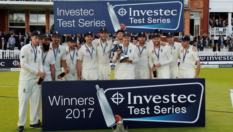 Joe Root-led England cricket team recently beat WestIndies cricket team in a Test series. They will face Australia in November.