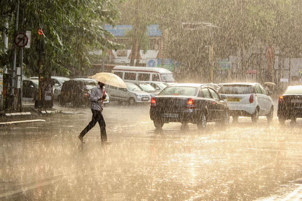 The intensity of rainfall in Pune city had reduced considerably in the past week.