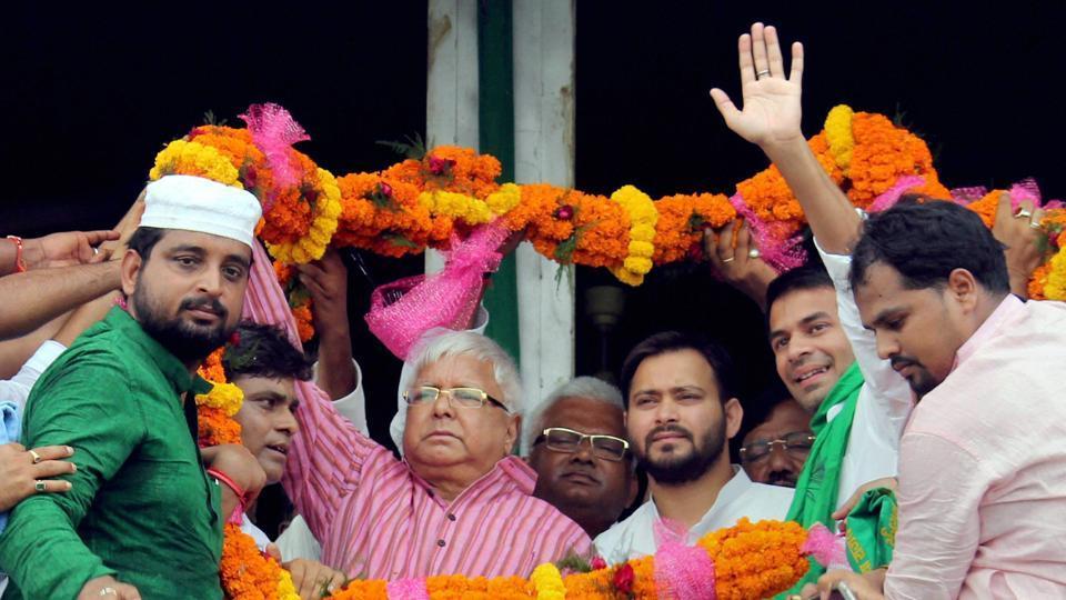 Nitish Kumar,Lalu Prasad,Srijan scam