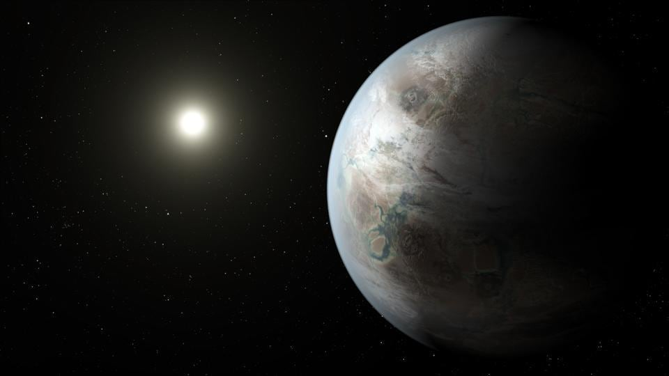 Researchers identified parts of the distant sky from where various planets in our Solar System could be seen to pass in front of the Sun.