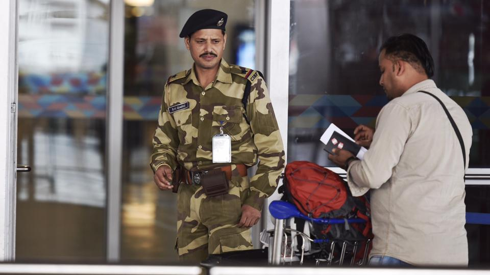 Image result for CISF trichy airport