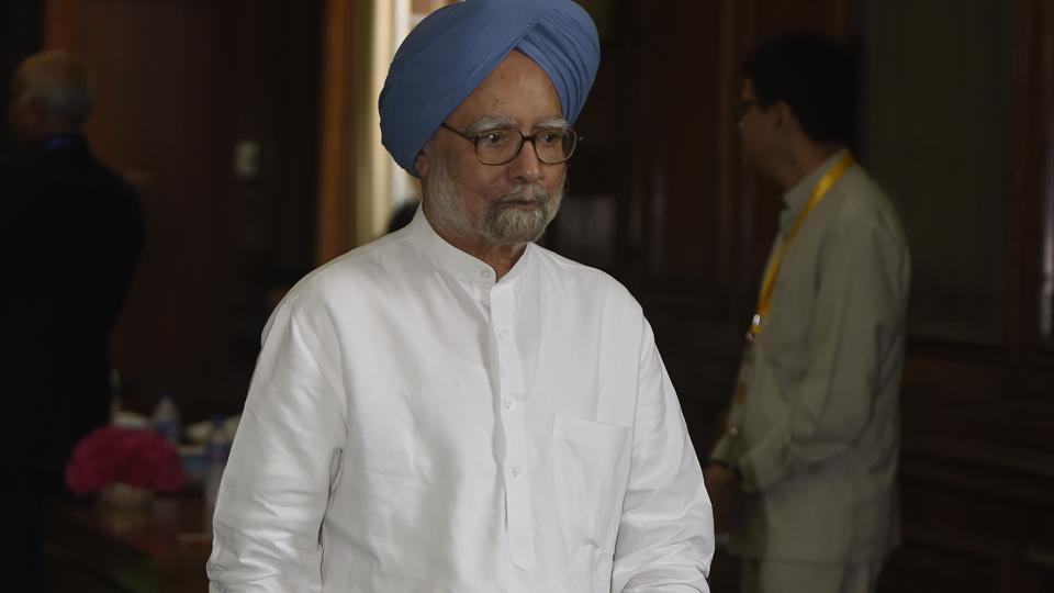 Former Prime Minister and senior Congress leader Manmohan Singh.