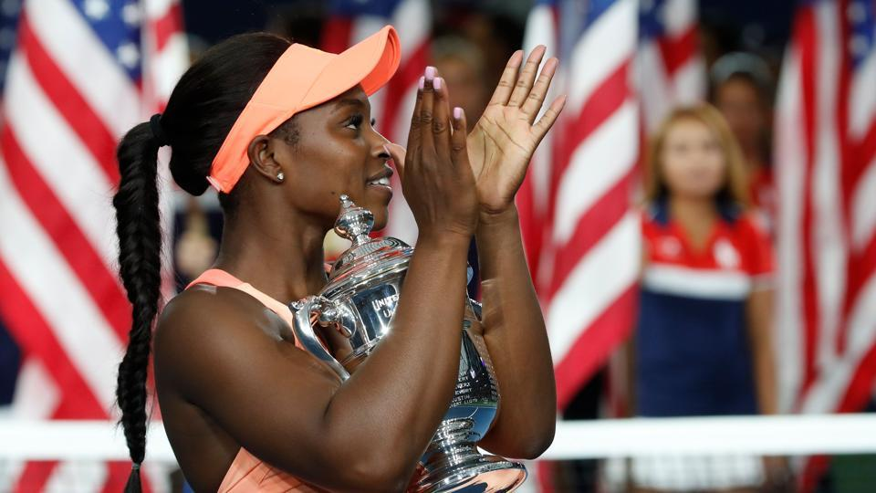 Stephens is only the fifth unseeded player to win a women's Slam title. (REUTERS)