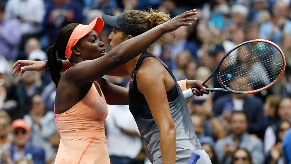 Sloane Stephens ultimately prevailed over Madison Keys 6-3, 6-0. (REUTERS)