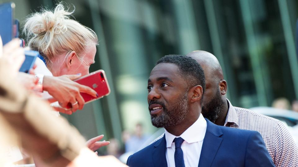 Actor Idris Elba attends the Premiere of The Mountain Between Us during the 2017 Toronto International Film Festival .