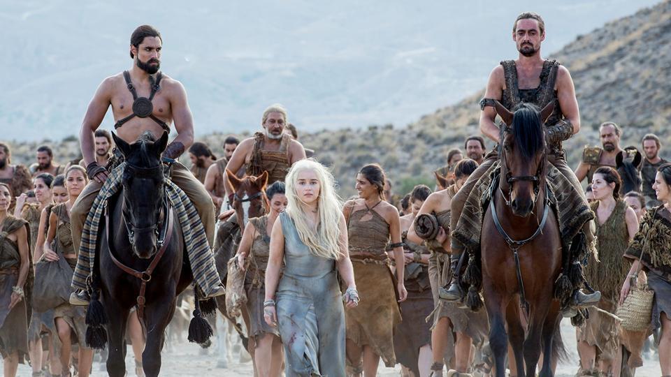 Daenerys Targaryen was once taken prisoner by the Dothraki.