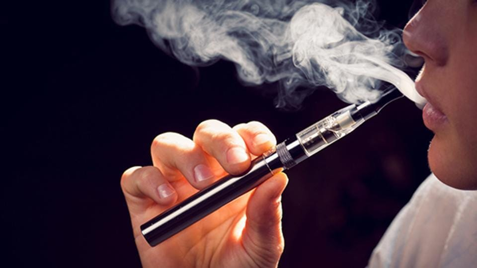Researchers found that there was a significant increase in heart rate and blood pressure in the volunteers who were exposed to e-cigarettes containing nicotine.