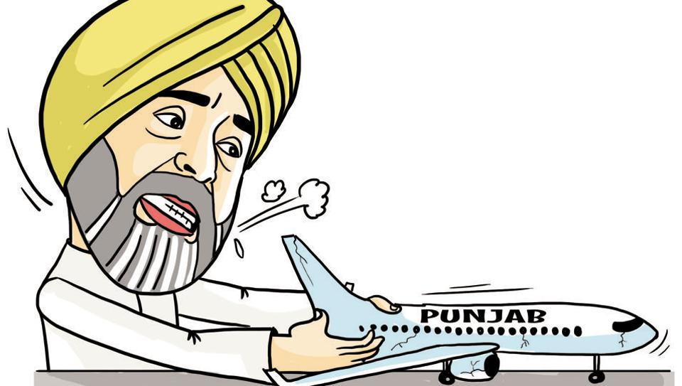 Punjab finance minister Manpreet Badal last week drew an analogy between an aircraft and the state.