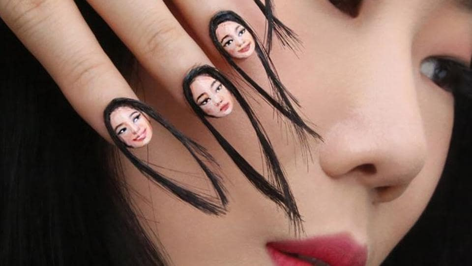 Illusionist Dain Yoon has introduced the world to a new beauty trend: hair nails.