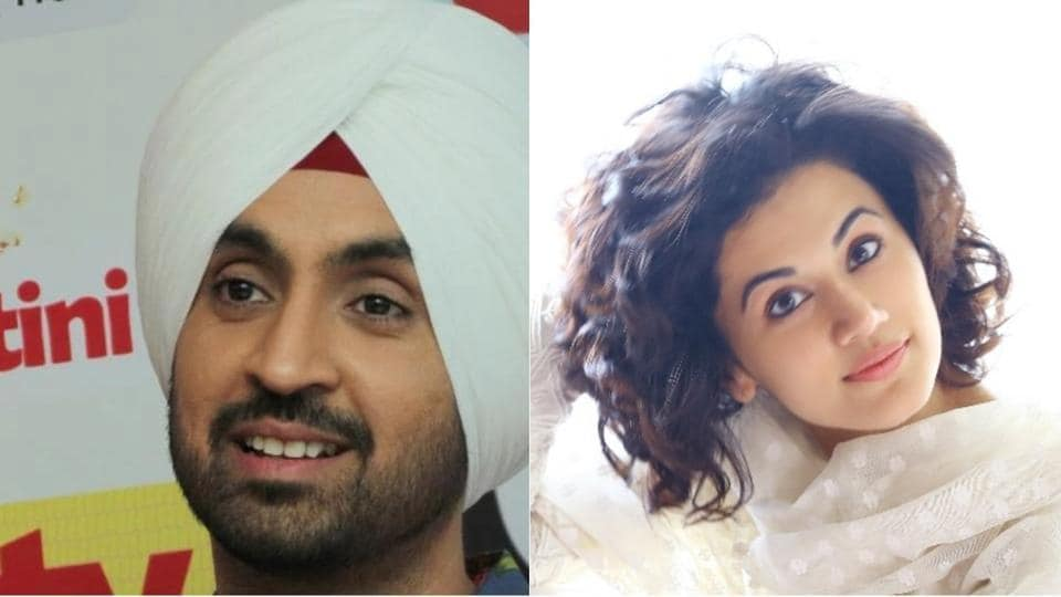 The film will be a love story that revolves around Taapsee Pannu and Diljit Dosanjh, and both would be essaying roles of hockey players.