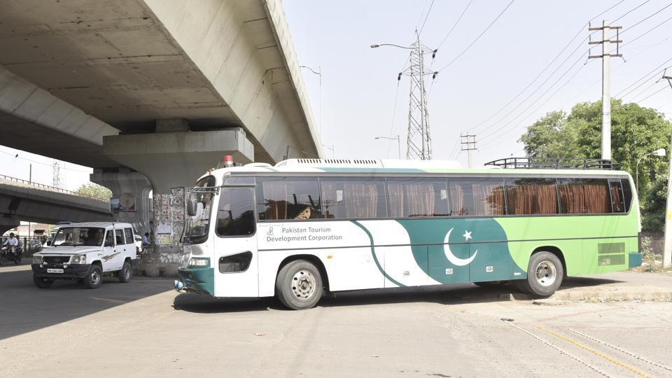 The cross-LoC bus, named as Paigam-e-Amun (message of peace), was scheduled to ply on Monday as per its weekly calender but was again suspended owing to lack of communication between India and Pakistan.