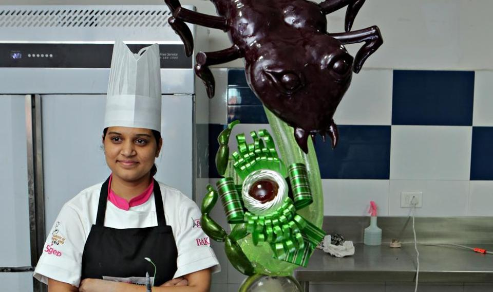 Gurgaon-based pastry chef, Eureka Araujio, won the title of Pastry Queen India 2017. She will now represent India in Ladies World Pastry Championship, in Italy in January 2018.