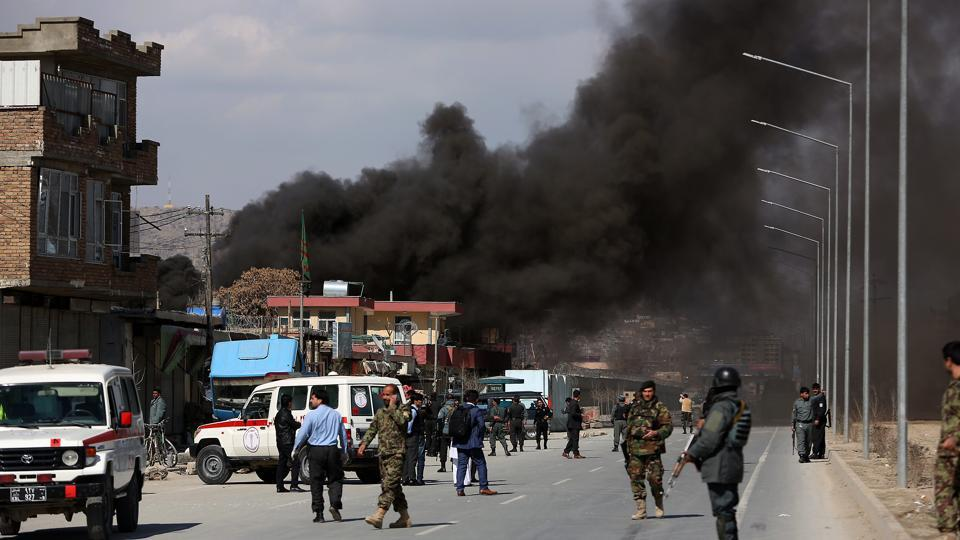 A statement from the Taliban militants said 13 Americans had been killed and 11 wounded and three armoured vehicles destroyed.