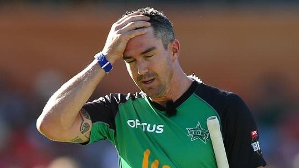 Kevin Pietersen landed himself in some 'trouble' due to his golf skills.