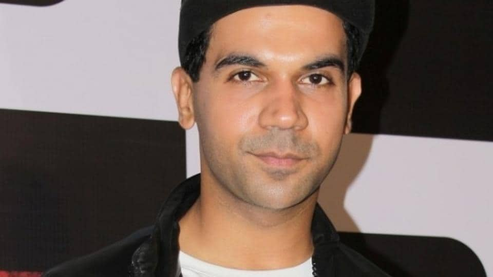 Actor Rajkummar Rao during the trailer launch of Bose: Dead/Alive.