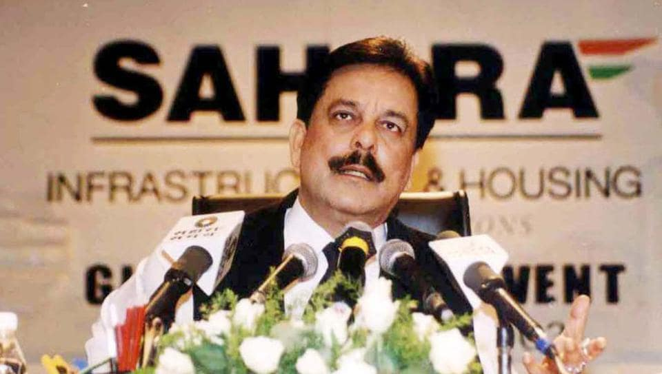 Sahara companies and Subrata Roy have been accused of collecting a huge sum of money from investors without listing the securities on the stock exchanges. (PTI file photo)