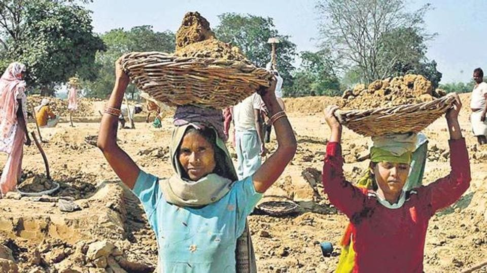 Workers in the unorganised sector account for over 93% of the country's total work force.