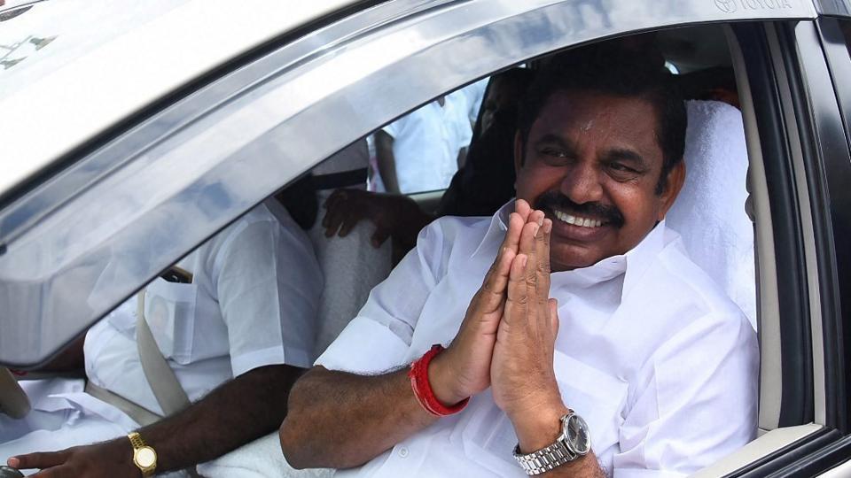Tamil Nadu chief minister Palaniswami.