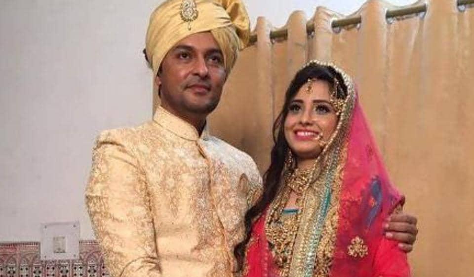 Anas Rashid,Heena Iqbal,Anas Rashid wedding