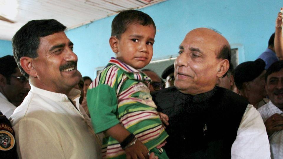 Rajnath Singh,Pakistan,Cross-border firing