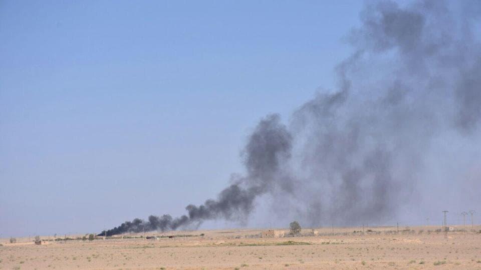 Russian Airstrikes,Syria,Deir Ezzor