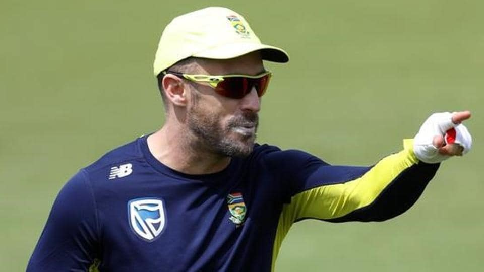 Faf du Plessis will lead the South African cricket team in all three formats of the game.