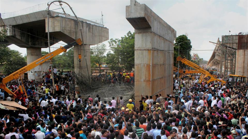 Bhubaneswar,Bhubaneswar flyover collapse,Bomikhal