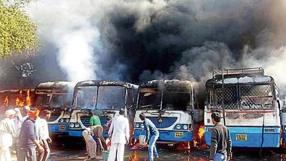 Over 30 people were killed and property worth crores was damaged during the Jat agitation in February last year.