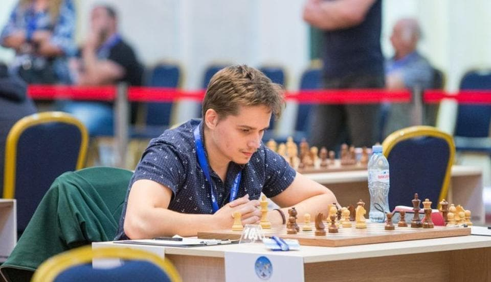 Anton Kovalyov was supposed to play Israel Grandmaster Maxim Rodshtein in the third round of the Chess World Cup when the controversy erupted.