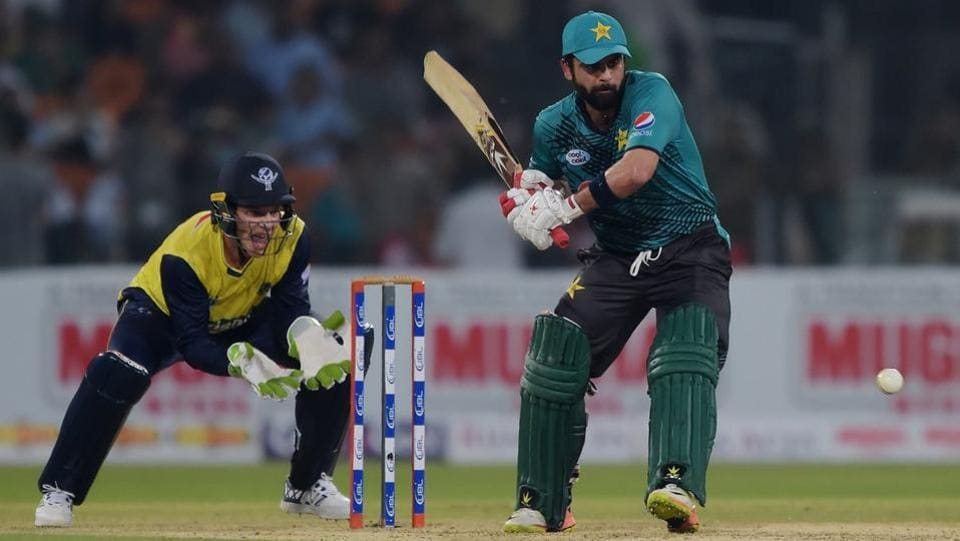 Shehzad, who played second fiddle to Azam, scored 39 off just 34 balls.  (Twitter )