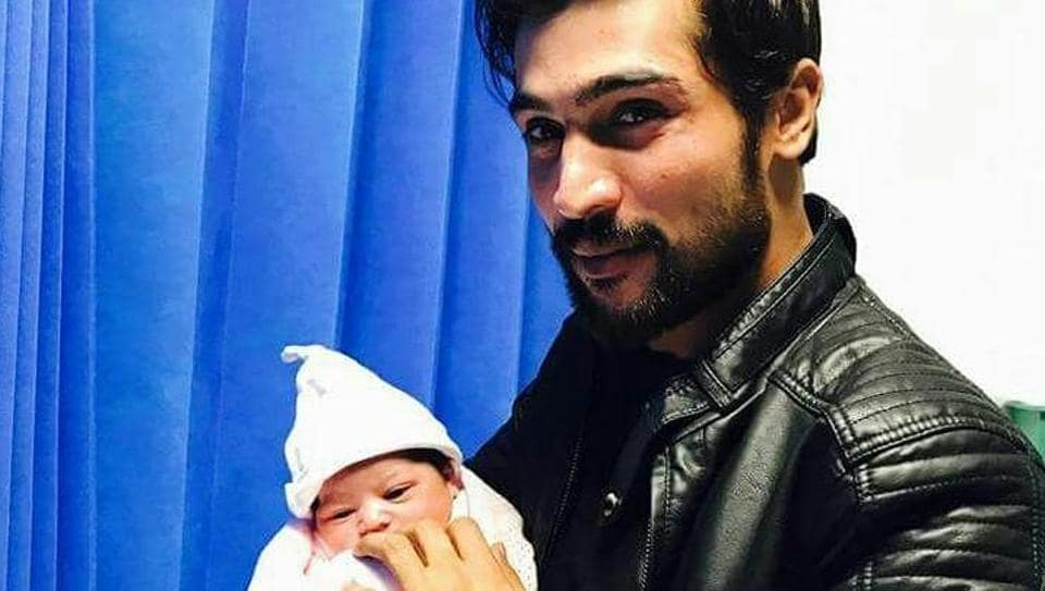 Mohammad Amir and his wife Narjis were blessed with a baby girl on Tuesday.